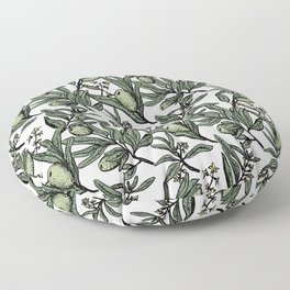 Olives pattern Floor Pillow