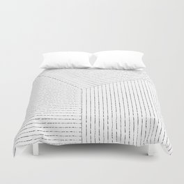 Lines Art Duvet Cover
