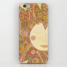 Even the Sun Needs a Nap iPhone & iPod Skin