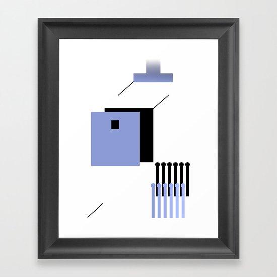 haus 2 Framed Art Print