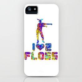 Floss Like A Boss Dance Flossing Dance Shirt Gift Idea I love to floss iPhone Case