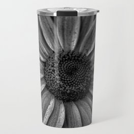 Darkened Daisy Travel Mug
