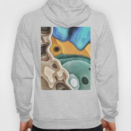 Landscape of Layers Hoody