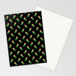 Turtle Sea Animal Merry Christmas Santa Claus  Stationery Cards