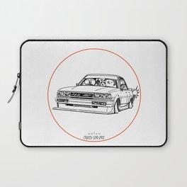 Crazy Car Art 0209 Laptop Sleeve