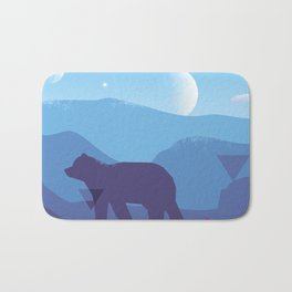 BEAR ~ Sign::dimension Bath Mat