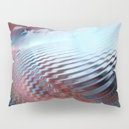 Abstract sky and water Pillow Sham