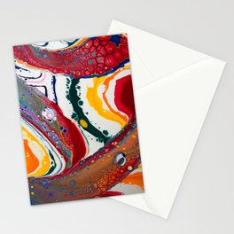 Rainbow Flow Stationery Cards