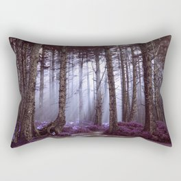 The World is Waiting Rectangular Pillow