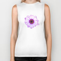 purple Biker Tanks featuring Purple  by Loredana