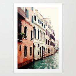 Venice Canals II Art Print