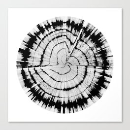 Yell Emotion (HATE IN-SITU) [Square] Canvas Print