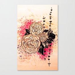 flora 2 Canvas Print