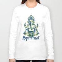 spiritual Long Sleeve T-shirts featuring Spiritual healer  by Tshirt-Factory