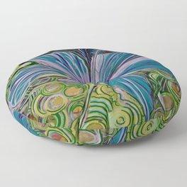 Hibiscus Floor Pillow