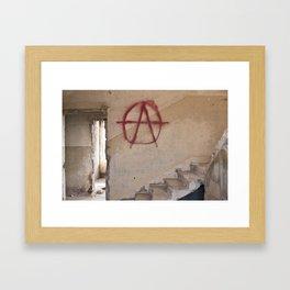 Abandoned house 1 Framed Art Print