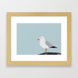 Sea Gull - Kittiwake Framed Art Print