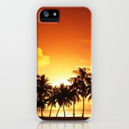 Sunset in Paradise II iPhone Case