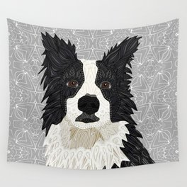 Beautiful Border Collie Wall Tapestry