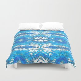253 - Abstract Glass Pattern Duvet Cover