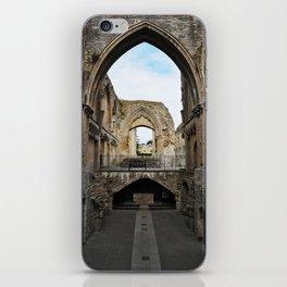 Glastonbury Abbey iPhone Skin