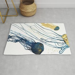 Metallic Jellyfish II Rug
