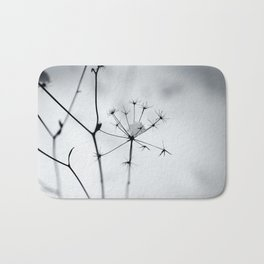 winter silhouettes Bath Mat