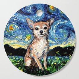 Chihuahua Night Cutting Board