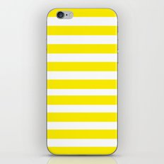 Yellow Lines iPhone & iPod Skin