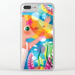 Hello Summer! Clear iPhone Case