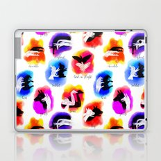 Watercolor Shadow Puppets Laptop & iPad Skin