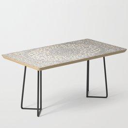 N60 - Moroccan Oriental Traditional Farmhouse & Boho Style Artwork Coffee Table