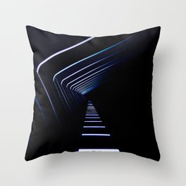 Light Path Throw Pillow