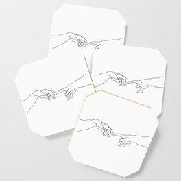 Creation of Adam Minimal Drawing Coaster