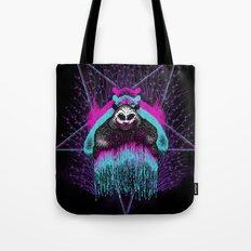 Possessed Panda Tote Bag