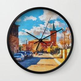 El Paso Train Station, Texas Wall Clock