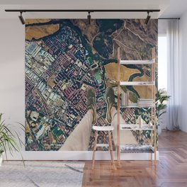 Time to hesitate is through Wall Mural