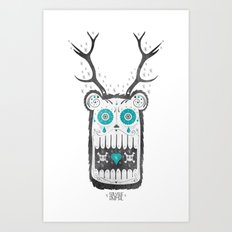 SALVAJEANIMAL MEX cuernitos Art Print