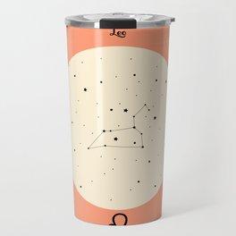 Leo - Pink Travel Mug