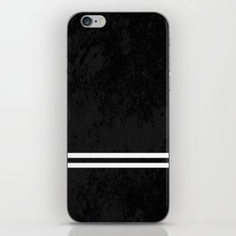 Infinite Road - Black And White Abstract iPhone Skin