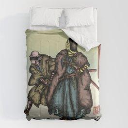 Samurai Daft Punk Comforters