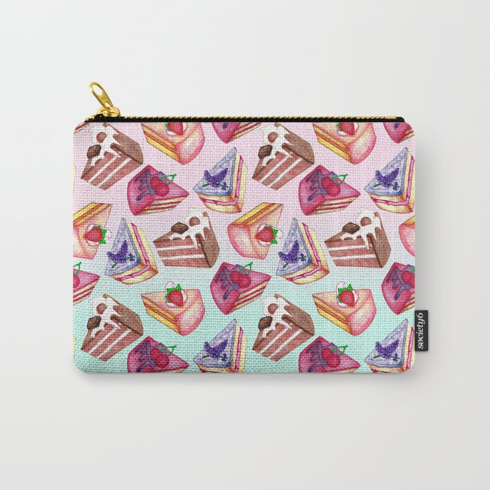 Let Them Eat Cake  Carry-All Pouch