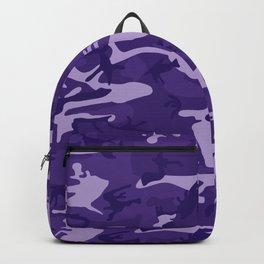 Pretty Purple Camo Pattern Backpack