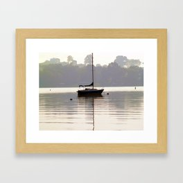 At Rest in Calm Waters- Photographic Collection Framed Art Print