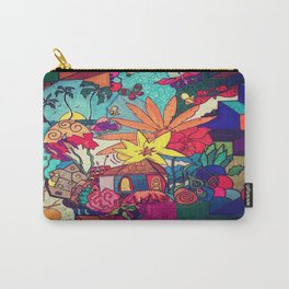 Flowers and colors Carry-All Pouch