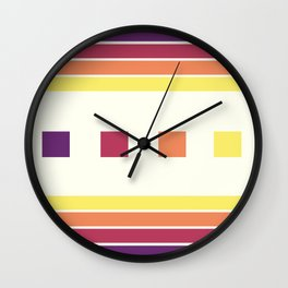 Skittle Brittle Wall Clock