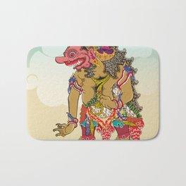 Kumbakarna character in Ramayana story Bath Mat