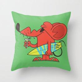 Wizz Test Throw Pillow