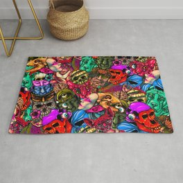 Men and Mutants Color Rug