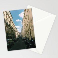 Spring in Paris - Le Marais Street Scene Stationery Cards
